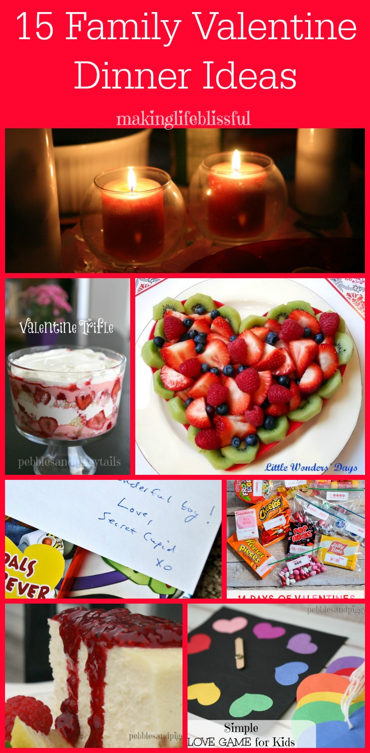 valentine dinner ideas for families making life blissful