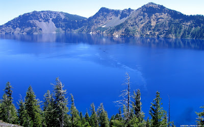 Beautiful Blue Lake View Full HD Nature Background Wallpaper For Laptop Widescreen .Jpg