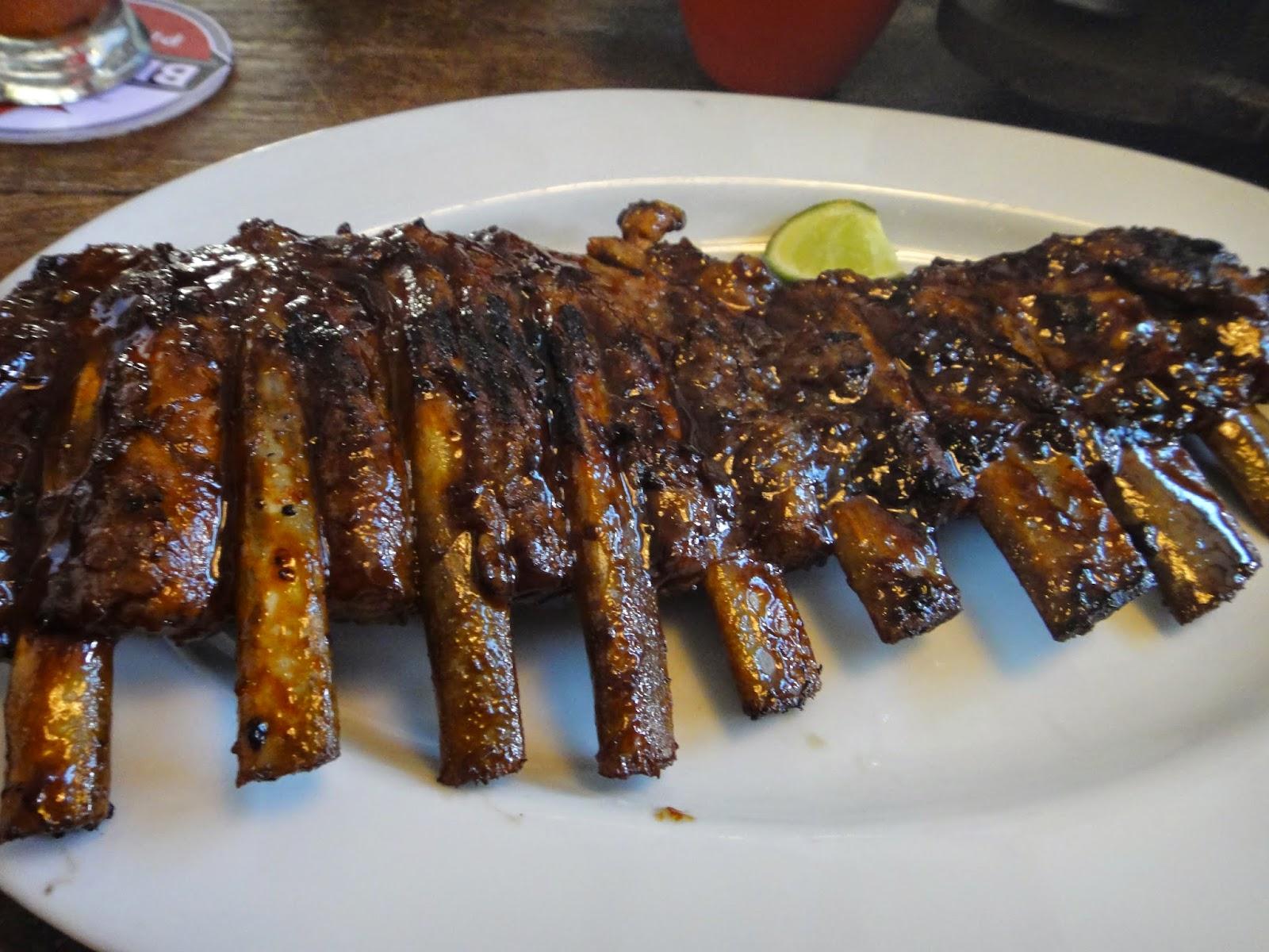 Naughty Nuri's Warung Pork Ribs Bali Indonesia