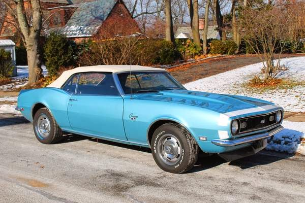 1968 Chevrolet Camaro Convertible for Sale - Buy American ...