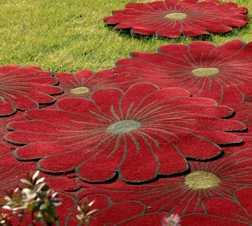 Alfombras de flores dale color a tu casa con piodao bonitadecoraci - Alfombras portugal ...