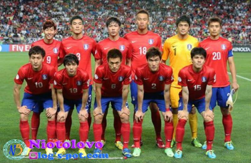 Skuad Inti Korea Selatan Untuk Piala Dunia Brazil 2014
