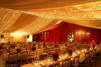 Decoraci n de bodas salones decorados en rojo 2 - Salones decorados en blanco ...
