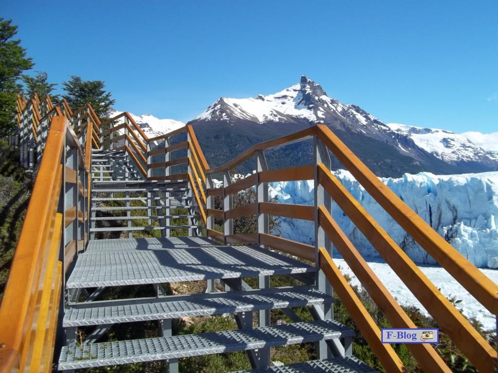Glaciar Perito Moreno - Pasarelas frente al glaciar