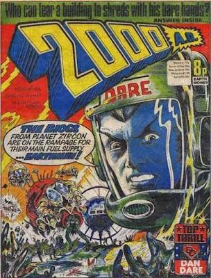 2000 AD #7, Dan Dare