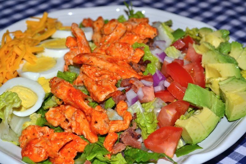 Gluten Free Betty: Buffalo Chicken Cobb Salad - Gluten Free