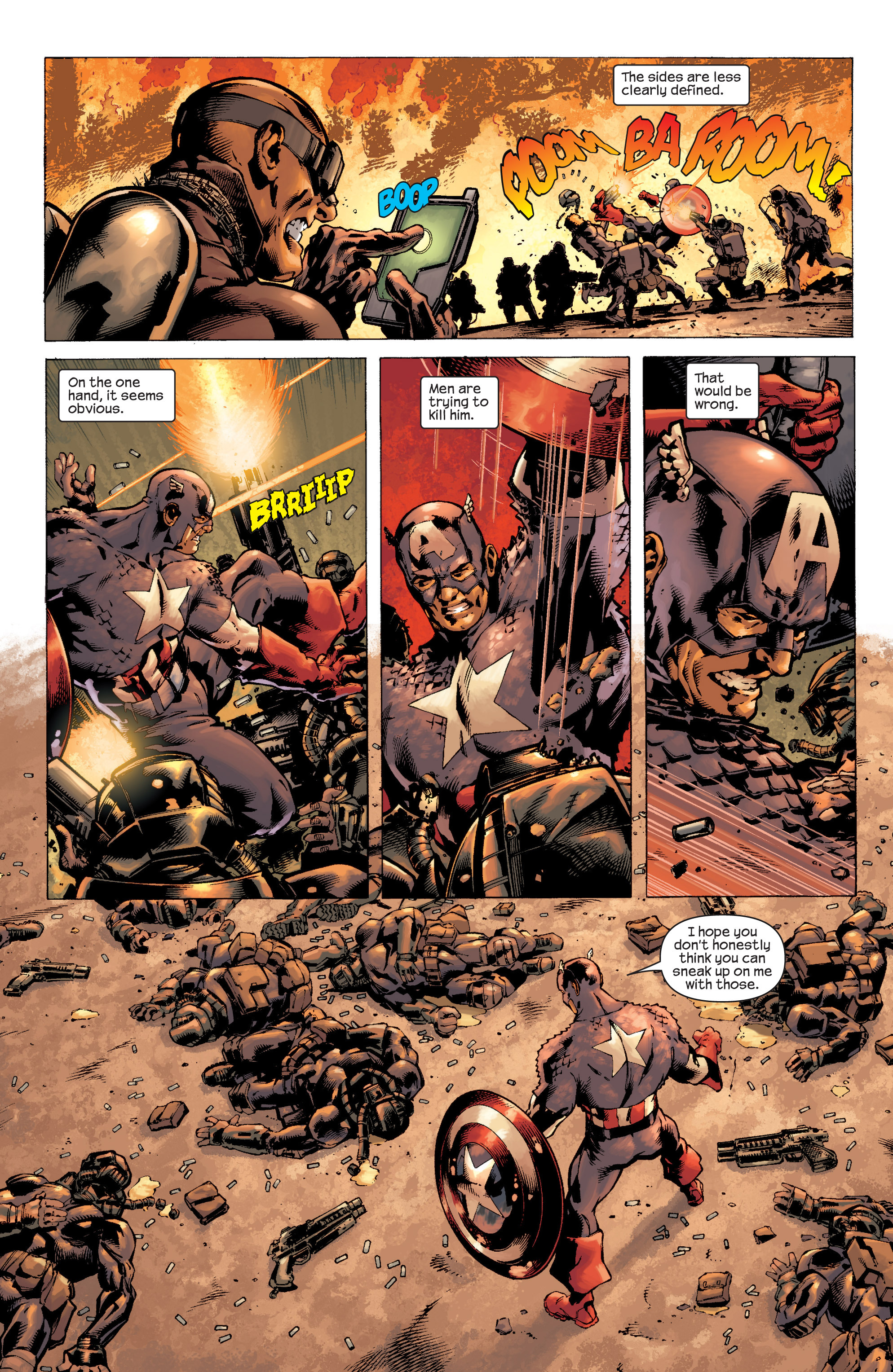 Captain America (2002) Issue #8 #9 - English 18