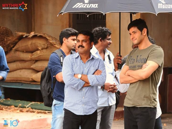 Srimanthudu Latest Working Stills | Mahesh Babu | Sruthi Hassan