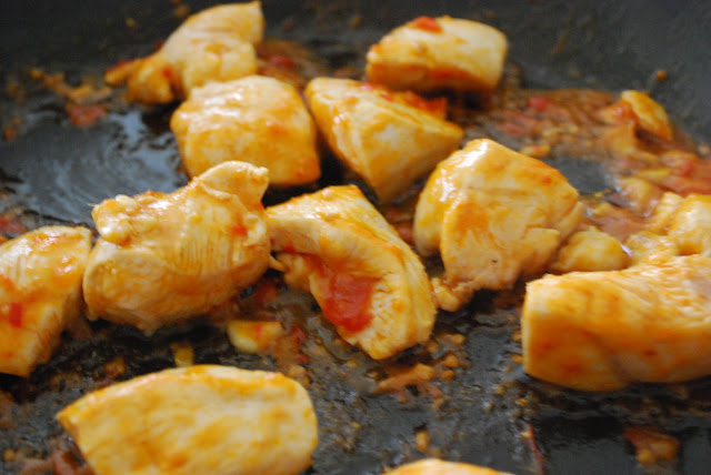 spicy Chicken recipe easy and quick in the pan