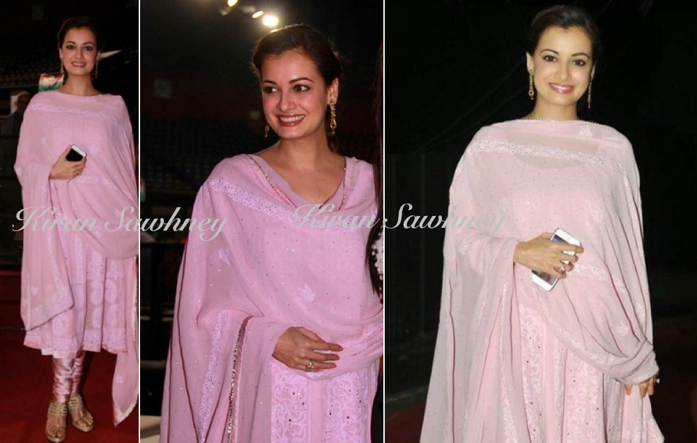 Dia Mirza at Discon District Conference in Ritu Kumar