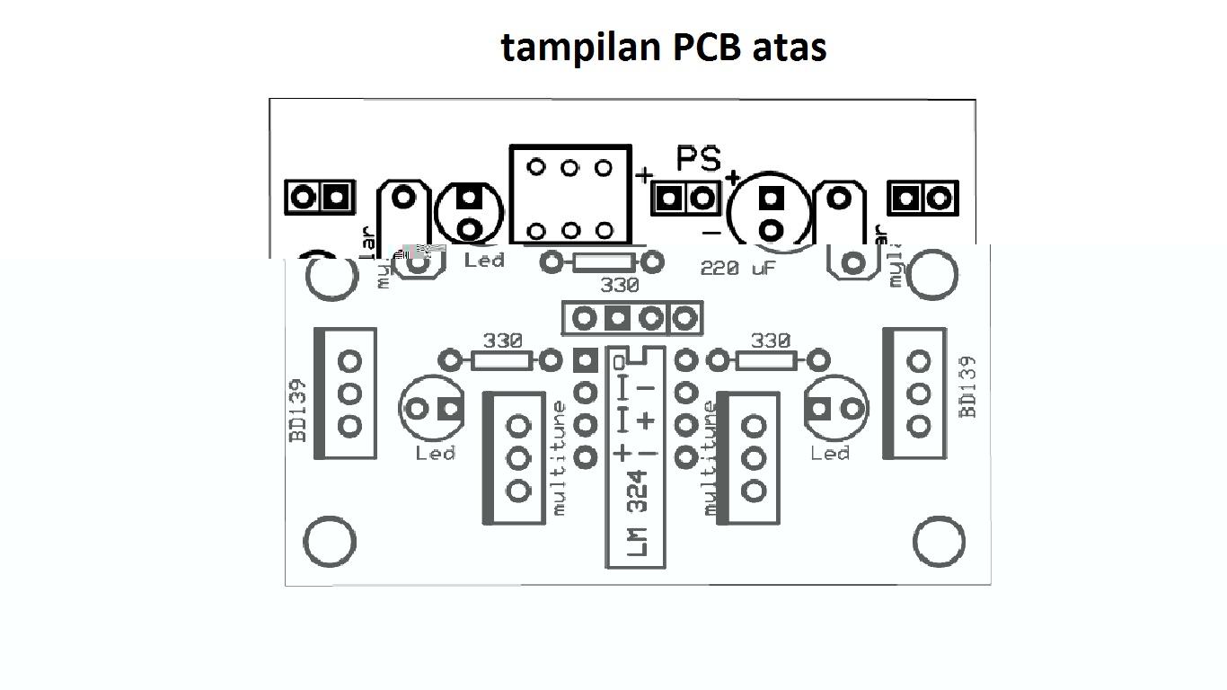 jual trainer dan desain pcb  rangkaian driver dan komparator lf 1  trainer elektro  elektronika