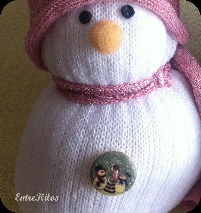 DIY: como hacer un muñeco de nieve con un calcetín
