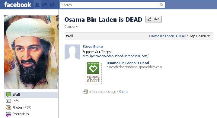 """usama bin laden dead page 4. """"Osama Bin Laden is DEAD"""""""