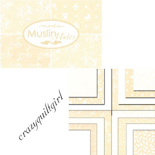 Moda MUSLIN MATES Wedding Baby Shower Fabric