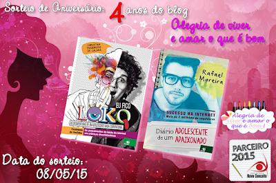 SORTEIO #22 - ANIVERSÁRIO DE 4 ANOS DO BLOG - VLOGUEIROS DE SUCESSO