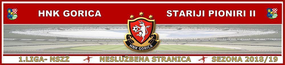 HNK Gorica-Stariji pioniri II 2018/19  1.NL Nogometni savez Zagrebačke županije