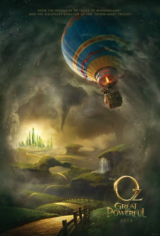 Oz Great Powerful teaser poster