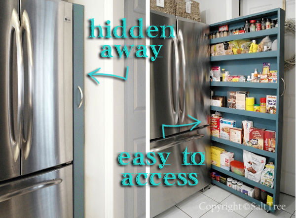 Pantry cabinet slide out pantry cabinet with pull out for Pantry ideas for small spaces