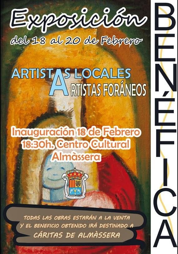 Exposición benéfica 2014 en Almàssera