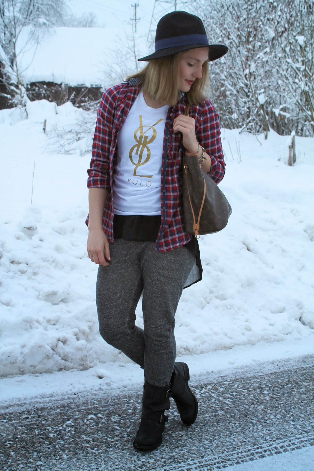 Yolo Shirts, Yolo Original, Fashion Blogger, Fashion Blogger Austria Österreich Kärnten Carinthia Klagenfurt, Sweatpants, Sweatpants Style, Sweatpants Look, Winter Look
