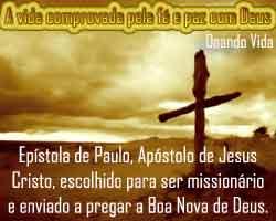 O Dom da graça vem de Jesus Cristo