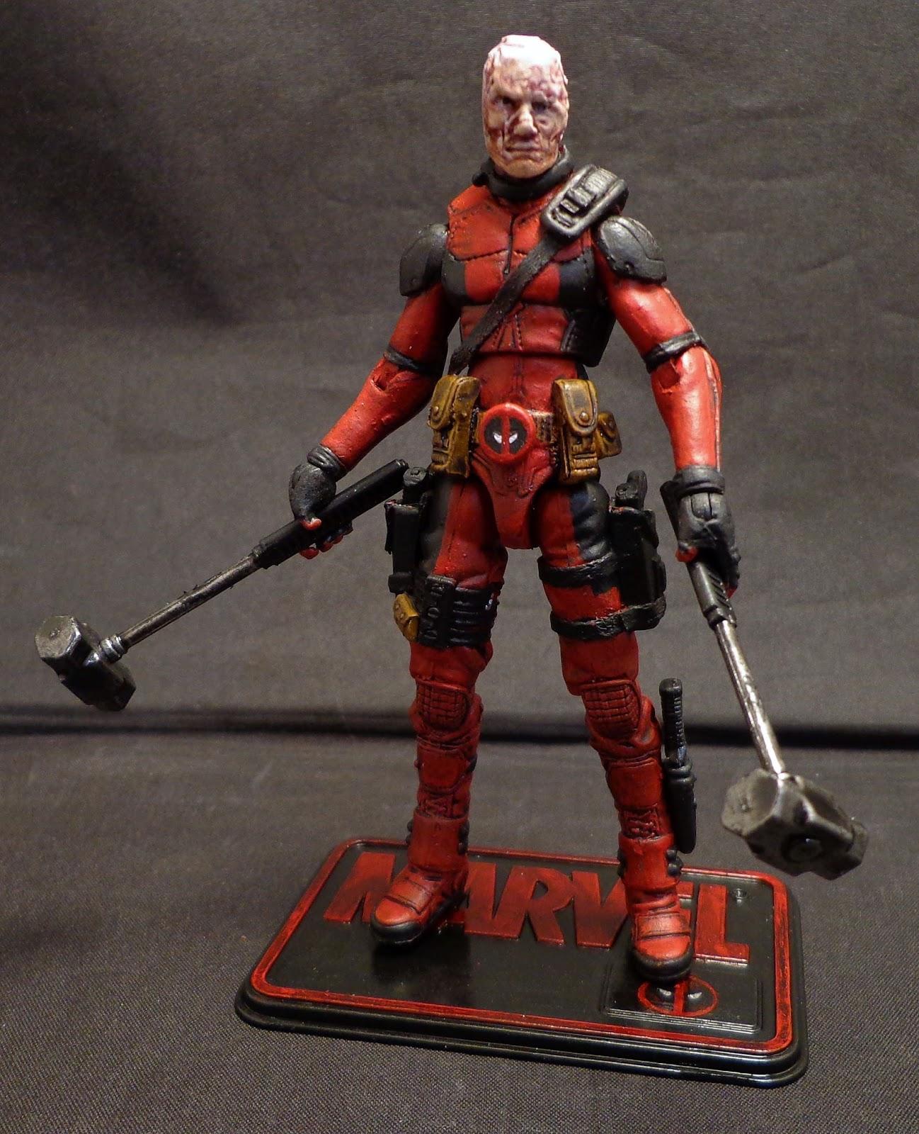 Stronox custom figures marvel universe deadpool for Deadpool show