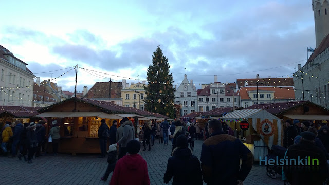 Christmas market Tallinn