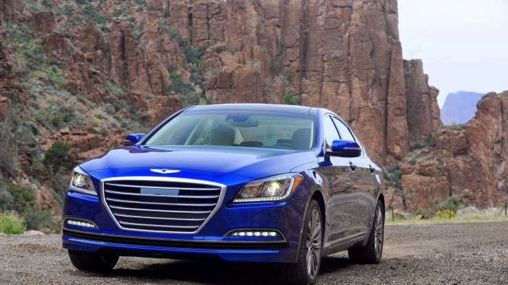 2015 Hyundai Genesis 3.8 Sedan review notes