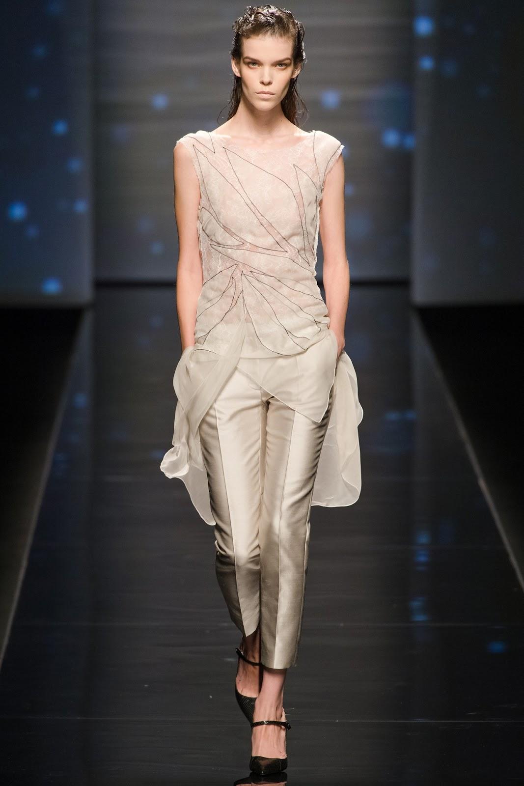 Alberta Ferretti RTW Spring 2013 Milan Fashion Week ...