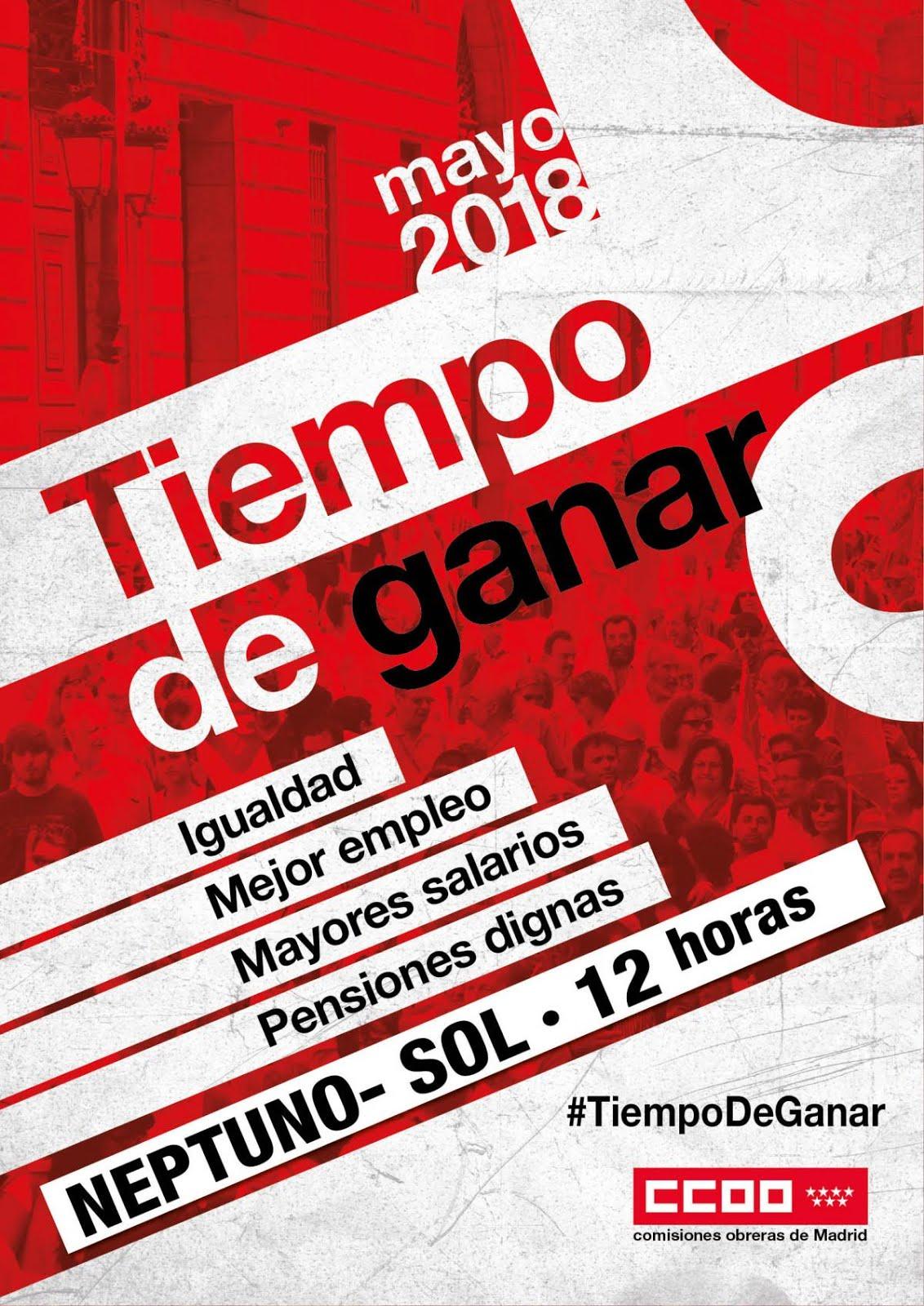 1 Mayo Empleo Igualdad Derechos Sociales