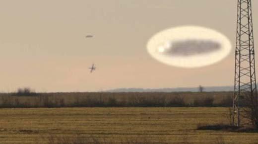 Aviones de combate persiguen a un OVNI en los cielos de Bulgaria