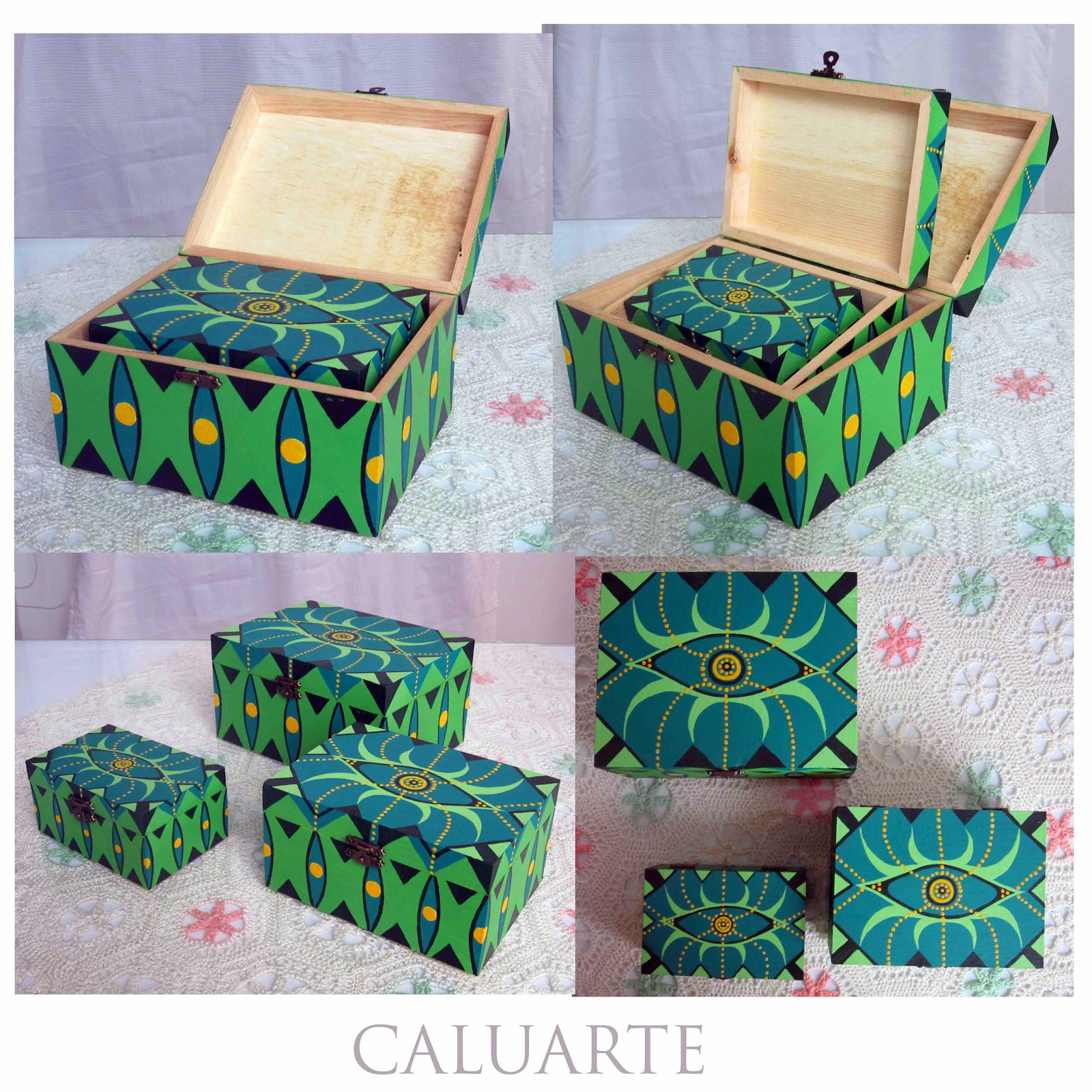 Cajas de maderas pintadas imagui - Cajas decoradas a mano ...