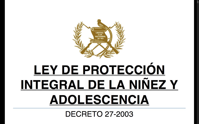 ley 27 2003 de 31: