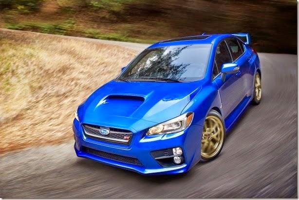carro novo Subaru WRX e WRX STI