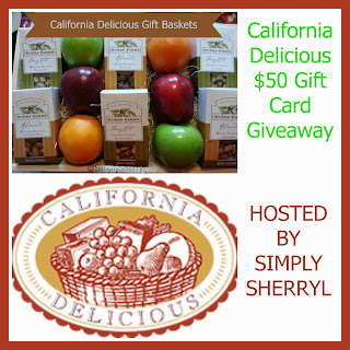 Enter to win the California Delicious Giveaway. Ends