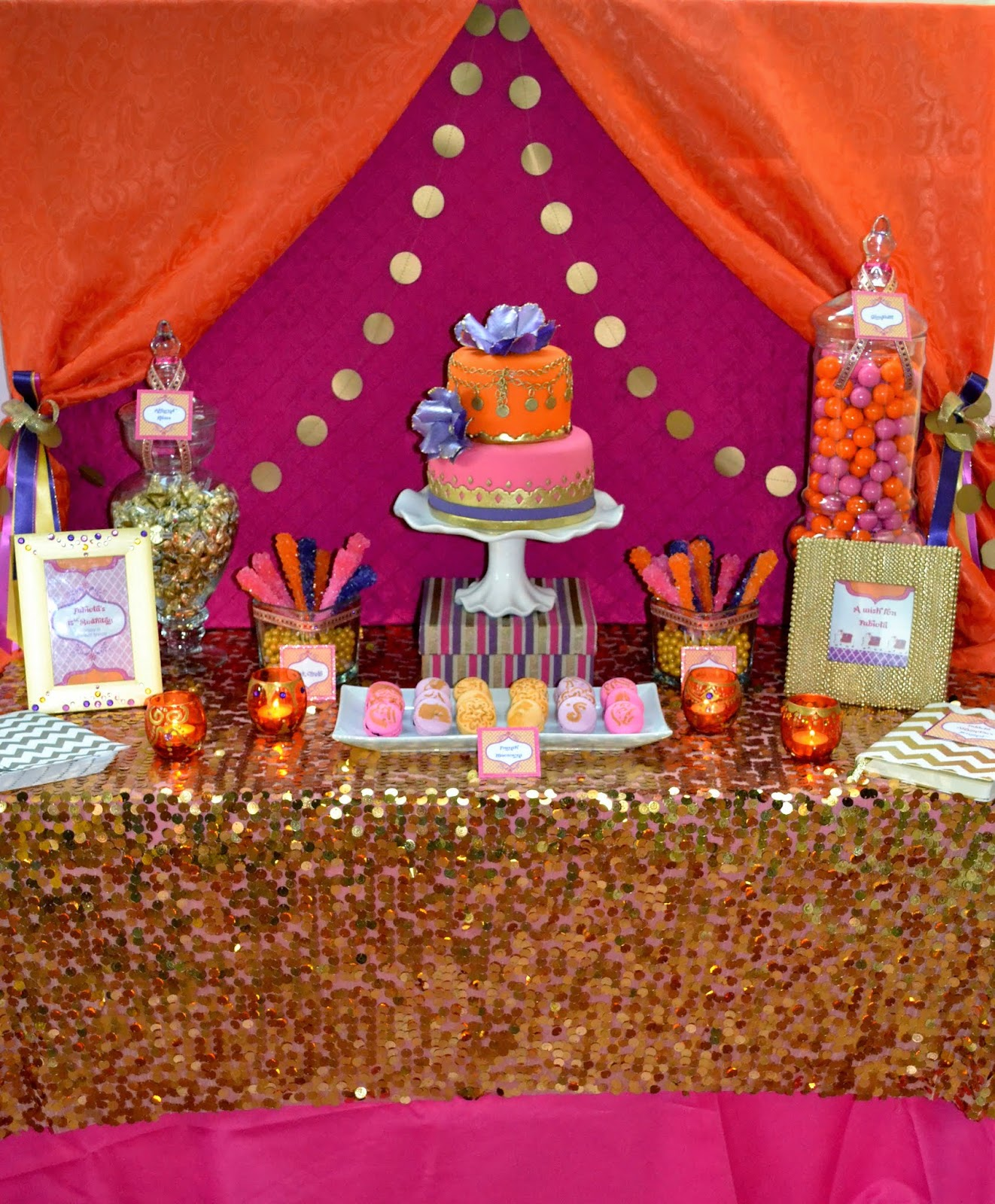 Partylicious Events PR: {Moroccan Dessert Table)