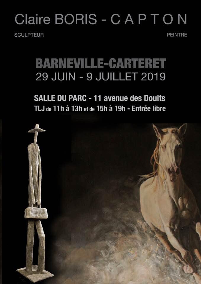 BARNEVILLE-CARTERET (MANCHE) : CLAIRE BORIS ET CAPTON A LA SALLE DU PARC