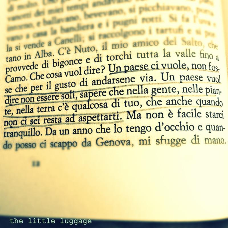 Cesare Pavese un paese vuol dire