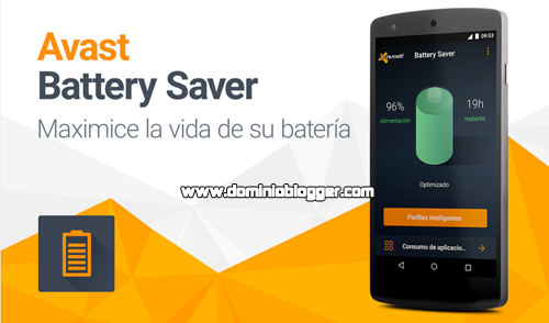 Alarga la duración de la batería de tu telefono con Avast Battery Saber