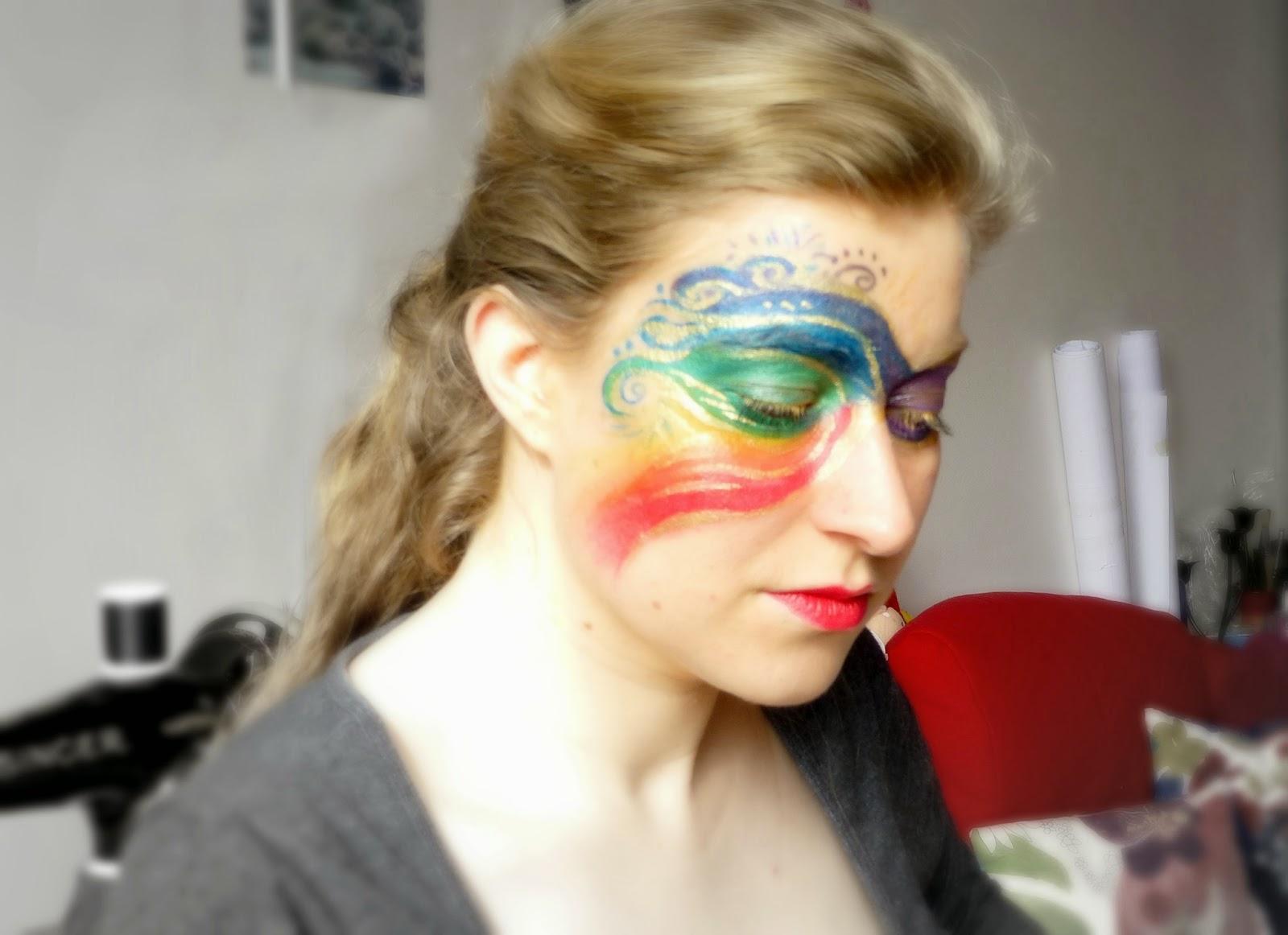 Les RDV Beauté  - Des yeux hauts en couleurs arc-en-ciel