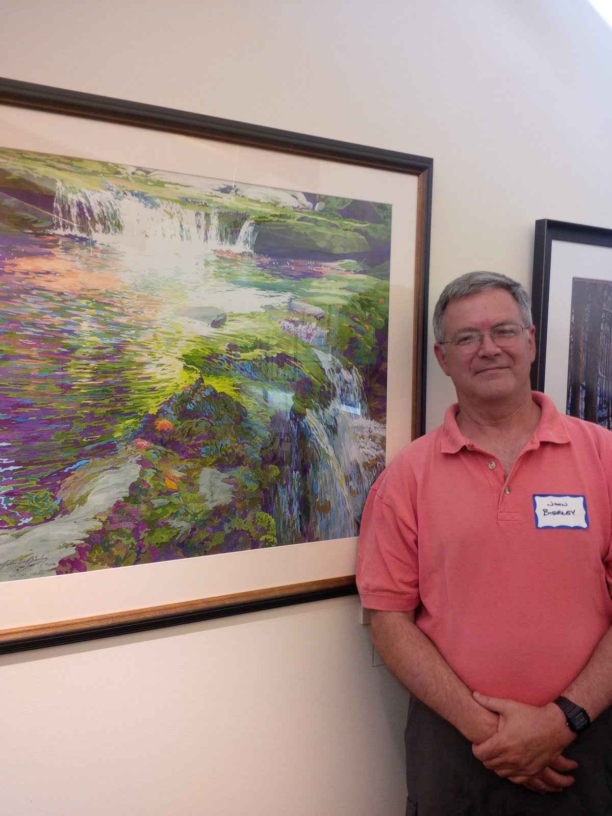 """ Liquid Sunlight "" award winner at 2016 PWS exhibition"