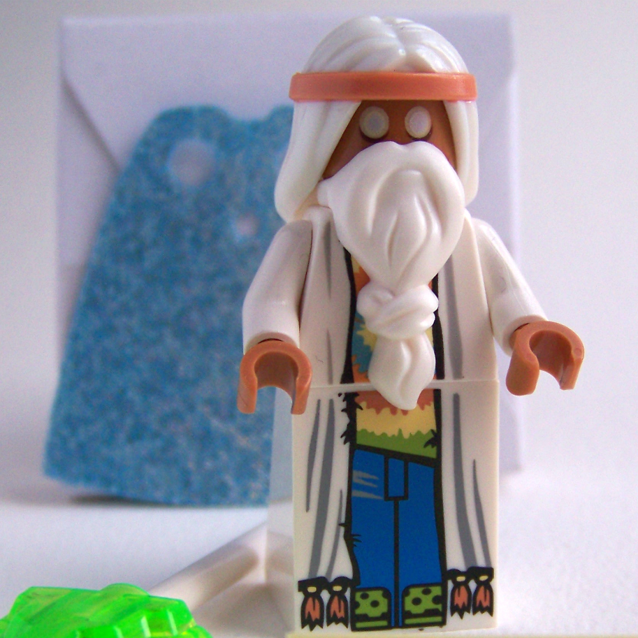 LEGO Movie Vitruvius minifigure 70809 Evil Lair