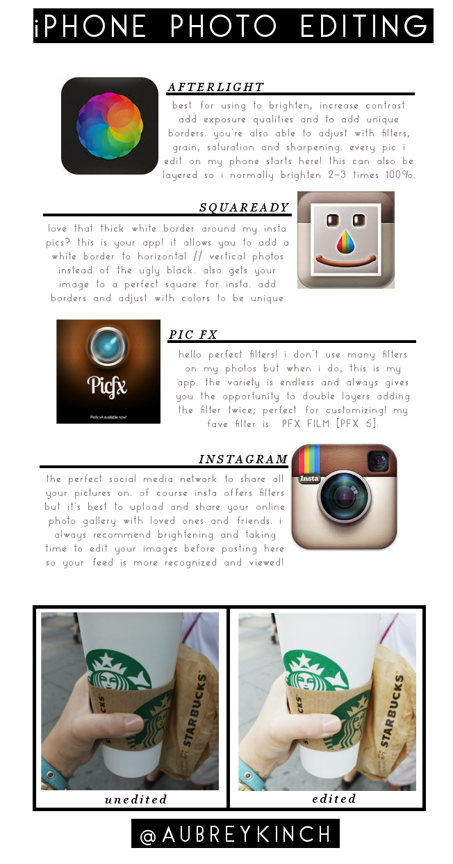 Aubrey Kinch The Blog Photo Editing Apps Edition No 2