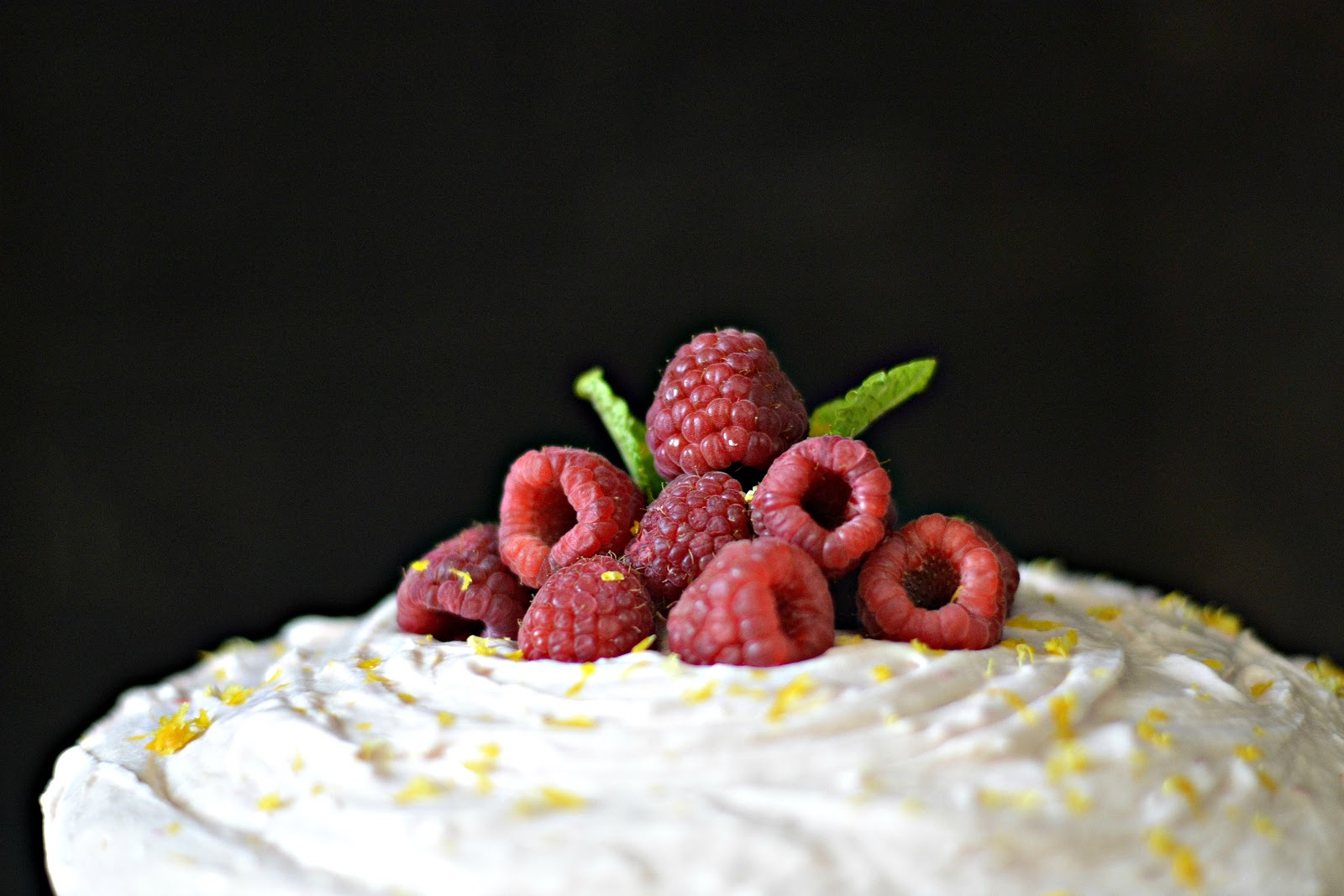 To get the recipe for my Buttermilk Cake with Raspberry Buttercream ...