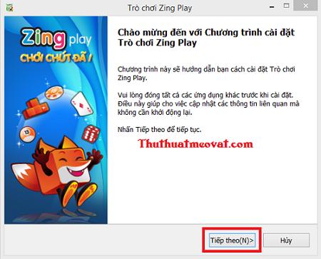 Bước 2: Quy định sử dụng phần mềm Zing Play . Các bạn