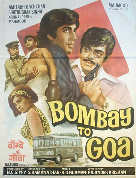 Bombay To Goa 1972 Watch Movie Online Subtitle Arabic مترجم عربي