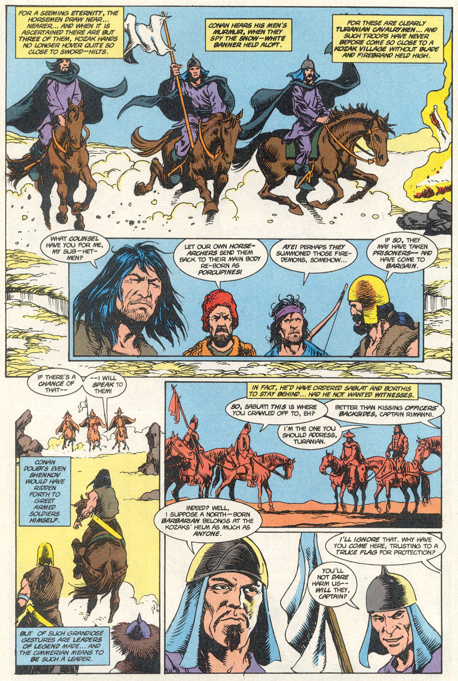 Conan the Barbarian (1970) Issue #275 #287 - English 35