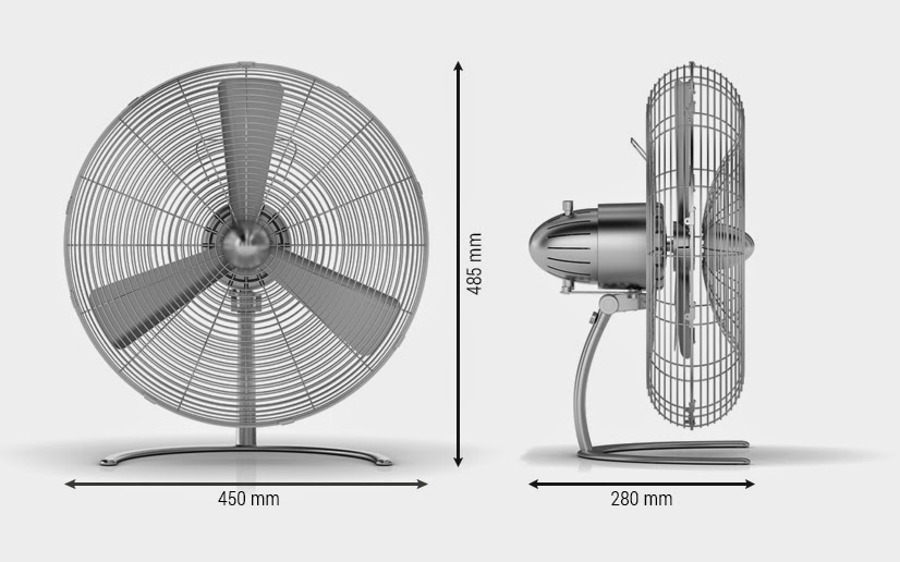 Dimension Of A Floor Fan : Stadler form charly floor new end pm