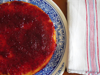 cheesecake alla marmellata di ribes