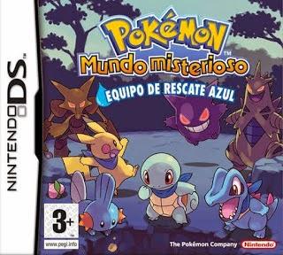 Pokémon Mundo Misterioso: Equipo de Rescate Azul (Español) (Nintendo DS)